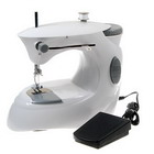 Portable Sewing Machine with Foot Controller (4xAAA) (Home Electronics Category)