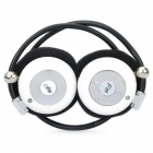USB Rechargeable MP3 Player Stereo Headset with FM / TF Slot White (MP3/MP4 Players Category)