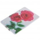 JB499 Credit Card USB 2.0 Rechargeable MP3 Player -- Rose (2GB) (MP3/MP4 Players Category)