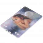 Compact Card USB Rechargeable MP3 Player Angel (2GB) (MP3/MP4 Players Category)