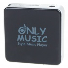 USB Rechargeable MP3 Player Black (Support 8GB TF Card) (MP3/MP4 Players Category)