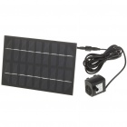 Solar Powered Brushless Water Pump Black (Solar Powered Gadgets Category)