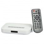 Compact Media Player with SD / MMC / USB White (MP3/MP4 Players Category)