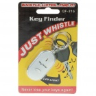 Whistle Activated Key Finder with LED Light (2 x LR41) (Alarms & Security Category)