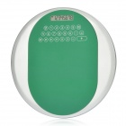 "2 in 1 1.8"" LCD Round 8 Digit Calculator Plus Mouse Mat Pad Green Plus Silver (1 x AG10) (Office Stationery Category)"