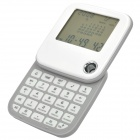 "2.4"" LCD 90 Degree Rotation World Time Travel Calculator (1 x CR2025) (Office Stationery Category)"