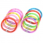 2 in 1 Bracelet Design Ballpoint Pen Random Colour (10 Piece Pack) (Office Stationery Category)