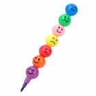 00WK501 Funny Removable / Assembling Plastic Crayon Pens -- Multi-coloured (Office Stationery Category)