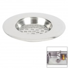 "FE-NGMING-GD QV852 Large Hole Kitchen Stainless Steel Sink Basin Sieve -- Silver (3"") (Kitchen Gadgets Category)"