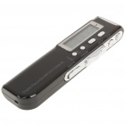 "1.4"" LCD Voice Recorder with MP3 Music Player Black (2GB / 2 x AAA) (Digital Voice Recorders Category)"