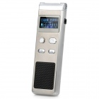 "Cenlux C60 1.0"" LCD Digital Voice Recorder with MP3 Player Silver (2GB) (Digital Voice Recorders Category)"