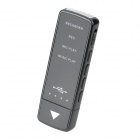 VX182 JD-823 Rechargeable High-Definition Recorder Plus MP3 Player -- Black (4GB) (Digital Voice Recorders Category)