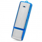 KO565 USB Voice Recorder -- Blue Plus Silver (4GB) (Digital Voice Recorders Category)