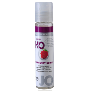 30ml Raspberry Sorbet Delicious Lube Moisture System JO H2O Flavoured Lubricant (Adults Only Toys Category)