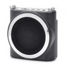KIMAFUN Multi Function Megaphone Voice Amplifier Music Speaker Black (Speakers Category)