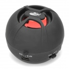 AE885 DK-606 Rechargeable Speaker with TF for iPhone / iPod / Cell Phone / Computer -- Black (Speakers Category)