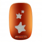 Rechargeable Plastic Speaker with TF Slot Orange Plus White (Speakers Category)