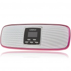 "1.1"" LCD Portable USB Rechargeable MP3 Player Speaker with FM / SD / Alarm Clock Deep Pink (Speakers Category)"