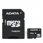 ADATA Micro SD HC / TF Memory Card with SD Adapter 32GB (Class 4) (Memory Cards & USB Drives Category)