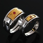 Couple Lovers Copper Alloy Rings (Size Man 8 / Woman 7) (Rings Category)