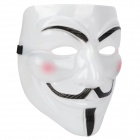 V for Vendetta Anonymous Movie Adult Guy Mask White (Cosplay Supplies Category)