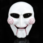 The Saw Plastic Cosplay Mask White (Cosplay Supplies Category)