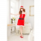 YV322 Dresses Christmas Dress Costumes -- Red (Free Size) (Cosplay Supplies Category)