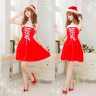 GV804 Sling Christmas Princess Dress -- Red (Free Size) (Cosplay Supplies Category)