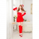 ZR830 Christmas Dress -- Red (Free Size) (Cosplay Supplies Category)