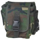 Camouflage Brown Canvas Waist Bag / Shoulder Bag (Bags Category)