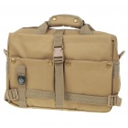 "Multi Pocket Oxford Cloth Bag with Compass for 10"" Laptop / DSLR Camera Khaki (Bags Category)"