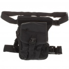 Military Tactical War Game Multi Purpose Shoulder Bag / Leg Bag Black (Bags Category)