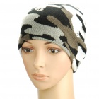 Woollen Beanie Winter Hat Cap Camouflage (Hats Category)