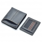 Vintage C H1002 Cowhide Leather Wallet Black (Purses & Wallets Category)