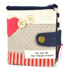 Fashion Cloth Folding Wallet (Purses & Wallets Category)
