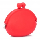 Silicone Coins Purse Red (Purses & Wallets Category)