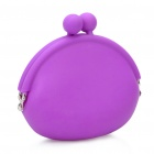 Silicone Coins Purse Purple (Purses & Wallets Category)