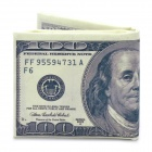Creative 100 US Dollars Bill Wallet (Purses & Wallets Category)