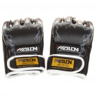 Professional Training Boxing Glove Black Plus White (Pair) (Belts & Gloves Category)