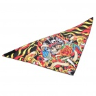 Multi function GDll Pattern Triangular Scarf Mask Colourful (Scarves Category)