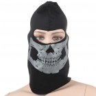 Reflective Headgear Mask Black Plus Dark Silver (Scarves Category)
