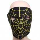 Spider Web Motorcycle / Hiking / Party Windproof Face Mask (Scarves Category)