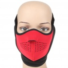 Universal Face Mask Red Plus Black (Scarves Category)