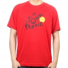 Tour de France T Shirt Red (Size XL) (Shirts & Tops Category)