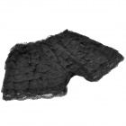 2 in 1 Fashion Lace Cake Skirt / Short Pants Black (Pants & Dresses Category)