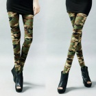 HR943 Military Women's Ninth Legging Pants -- Camouflage (Free size) (Pants & Dresses Category)