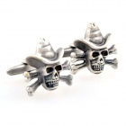 RH815 Pirate GDll Plating Stoving Varnish Cufflinks -- Bronze (Pair) (Clothes and Shoes Category)