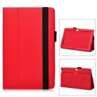 CQ981 Protective PU Leather Case for Micro Surface RT 10.6 Inches -- Red (Cases & Protectors Category)
