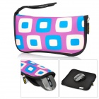 EN-KAY-GD LD145 Multi-Function Waterproof Mouse Pad Storage Bag -- Blue Plus Purple (Laptop Accessories Category)