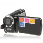 "1.3MP CMOS Digital Video Camcorder with 4X Digital Zoom / AV Out / SD Black (3 x AAA / 1.8"" TFT LCD) (Digital Cameras Category)"
